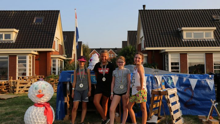 Benthe, Finette, Lynn en Nikita winnen de Huttenkamp 2019!