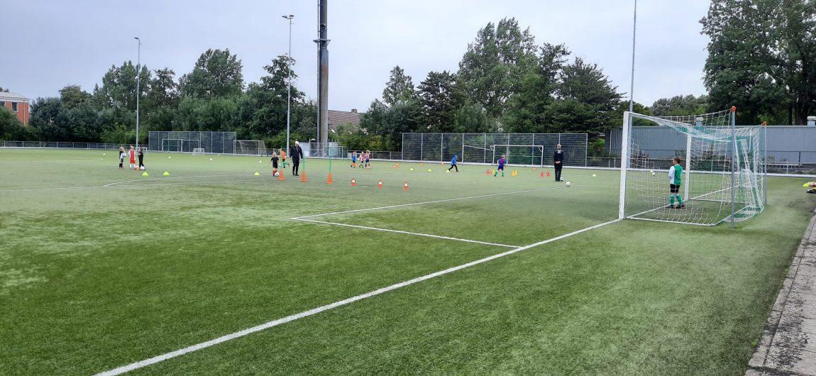 Veel talent op voetbalveld