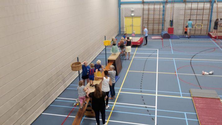 Woutje Brugge mini-gym was weer een groot succes!