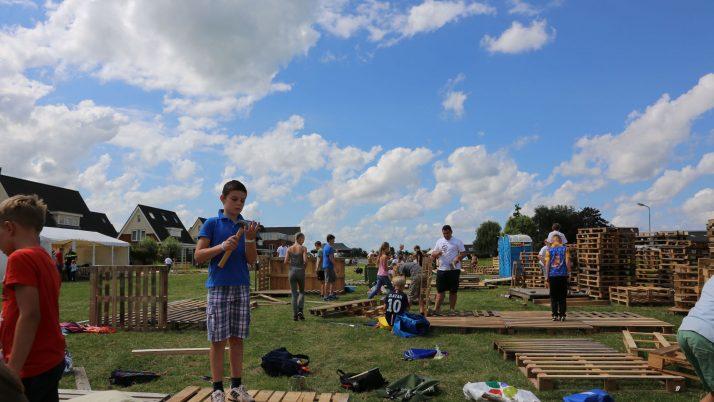 Ook dit jaar start de Nolina Huttenbouw weer op zondag!